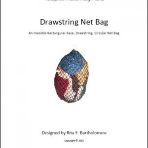 Invisible Bottom Bag - Drawstring: a net bag