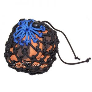 Juggling Balls Bag - Blue Top (seven balls)