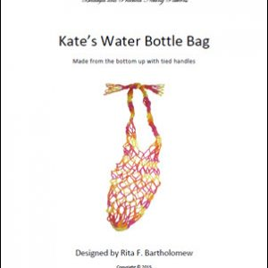 Kate's Water Bottle Bag: a net bag