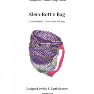 Klein Bottle Bag - Circle Base (Small Mesh): a net bag