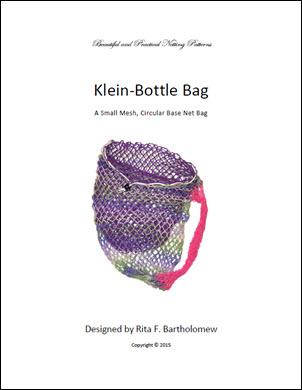 Klein Bottle Bag - Circle Base (Small Mesh): a net bag