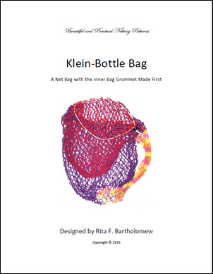 Klein Bottle Bag Grommet Made First: a net bag
