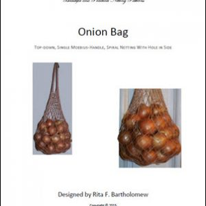 Onion Bag with Moebius Handle: a net bag