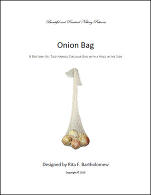 OnionBag with a Tied Handle
