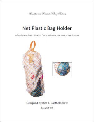 Plastic Bag Holder: a net bag