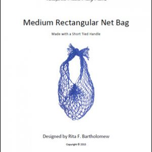 RectangularBag (Medium) - Basic with a Short Handle: a net bag