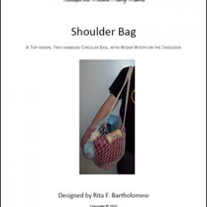 Shoulder Bag with a Wide-Width Shoulder: a net bag