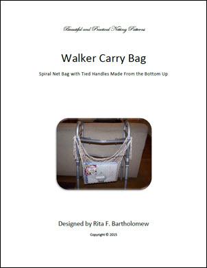 Walker Carry Bag: a net bag