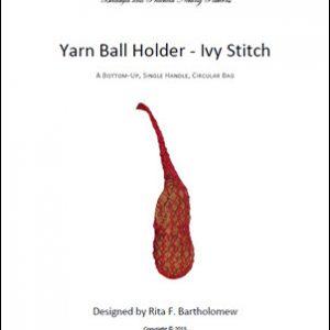 Yarn Ball Holder - Ivy Stitch Bag: a net bag