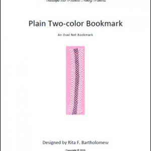 Plain Two-color Bookmark
