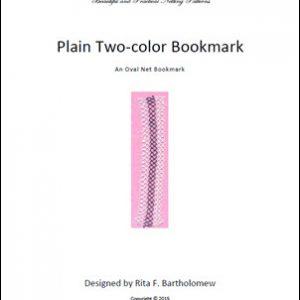 Plain Two-color Bookmark