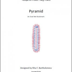 Pyramid: an oval net bookmark
