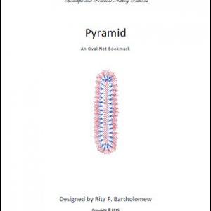 Pyramid: an oval net bookmark
