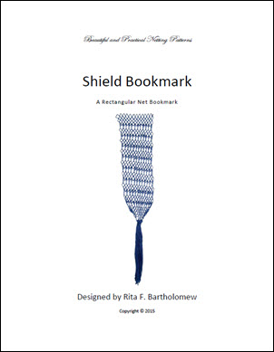 Shield: a rectangular bookmark