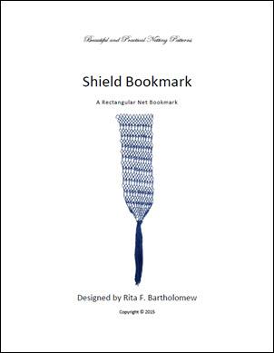 Shield: a rectangular bookmark
