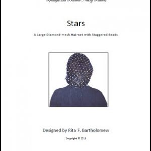 Hairnet: Stars - Basic Large with Staggered Beads (1,284 knots)
