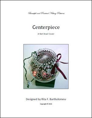 Centerpiece: a net bowl cover