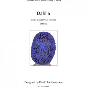 Hairnet: Dahlia - small, yarn (744 knots)