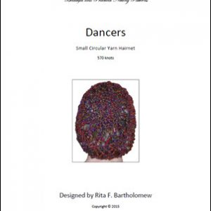 Hairnet: Dancers - small, yarn (570 knots)