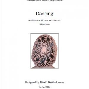 Hairnet: Dancing - medium, yarn (600 knots)