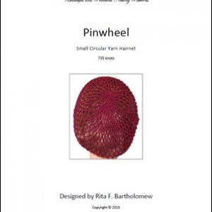 Hairnet: Pinwheel - small, yarn (735 knots)