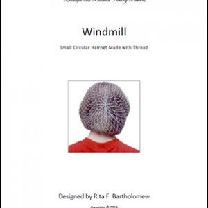 Hairnet: Windmill - small, thread (591 knots)