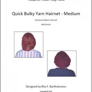 Hairnet: Basic Bulky Yarn (449 knots)