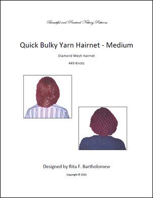 Hairnet: Basic Bulky Yarn (449 knots)