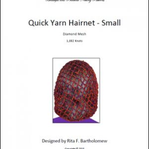 Hairnet: Basic Yarn - medium (1,082 knots)