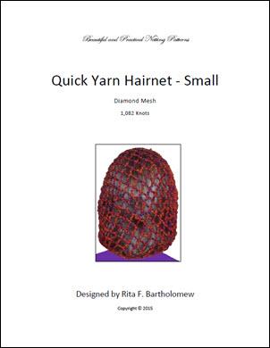 Hairnet: Basic Yarn - medium (1,082 knots)