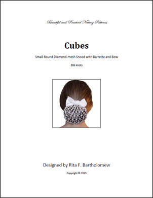 Snood: Cubes Round - small (386 knots)