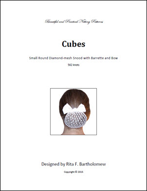 Snood: Cubes Round - small (562 knots)