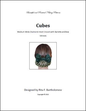 Snood: Cubes Wide - medium (328 knots)