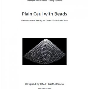 Net Caul: Plain with Beads