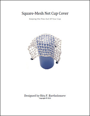 Cup Cover: Square-Mesh