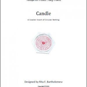 Net Coaster Insert: Candle Circular