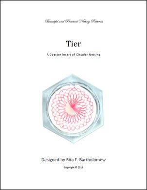 Net Coaster Insert: Tier Circular
