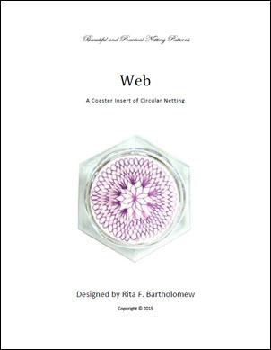 Net Coaster Insert: Web Circular