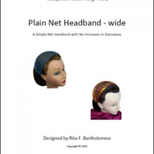 Plain Headband - wide