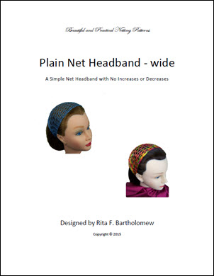 Plain Headband - wide
