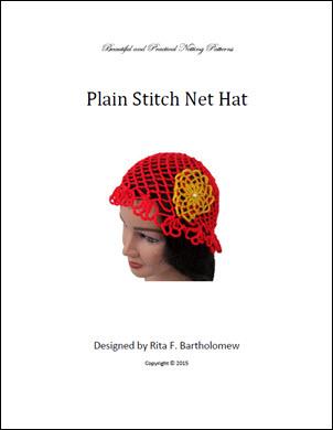 Net Hat: Plain Stitch