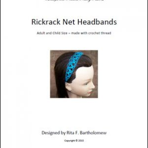 Rickrack Headband - Thread
