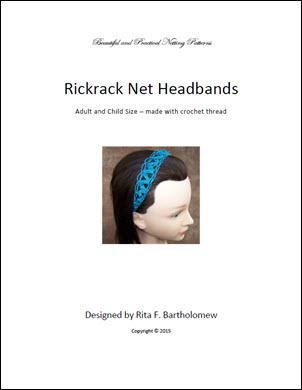 Rickrack Headband - Thread