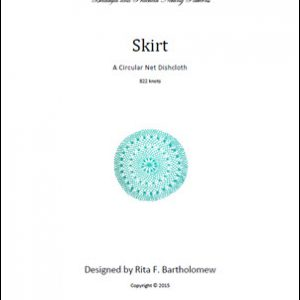 Circular Dishcloth: Skirt