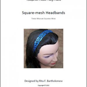 Square Mesh Headband (3 Medium Squares)