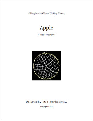 Net Suncatcher: Apple - 3 inch