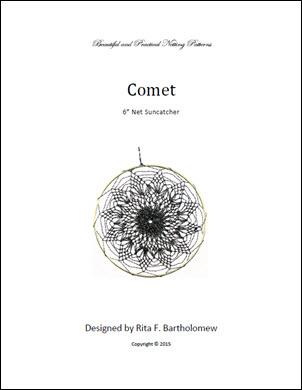 Net Suncatcher: Comet - 6 inch