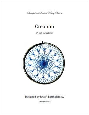 Net Suncatcher: Creation - 4 inch