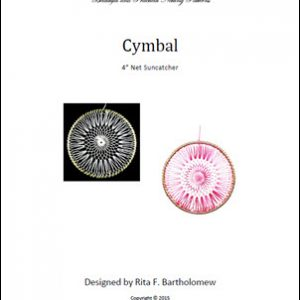 Net Suncatcher: Cymbal - 4 inch