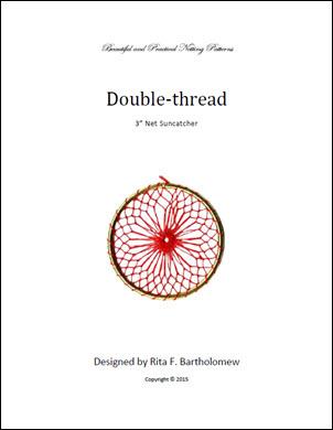 Net Suncatcher: Double Thread - 3 inch